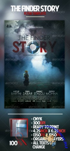 GraphicRiver - The Finder Story Flyer 2550869