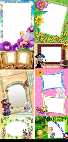 Collection of Spring Photo frames pack 61