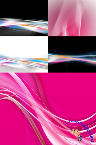 Wavy Abstract Backgrounds
