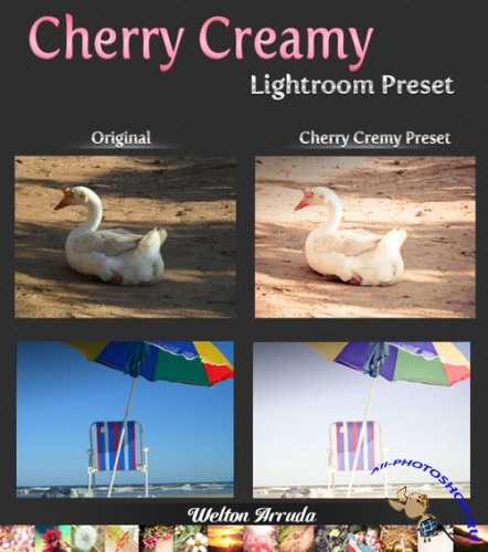 Cherry Creamy Lightroom Preset