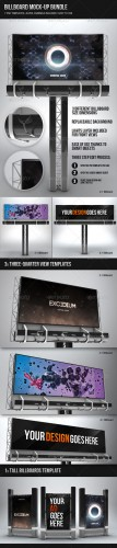 GraphicRiver - Billboard Mock-up Bundle 2269598