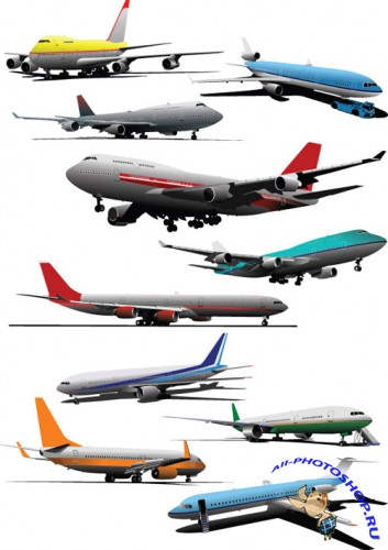 Aircraft models Vector