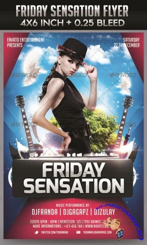 GraphicRiver - Friday Sensation Flyer Templat