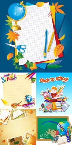 Back to School #10 - Stock Vectors
