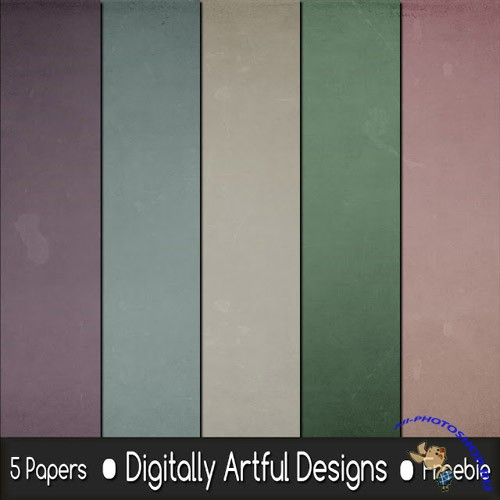 5 Paper Textures Pack #2