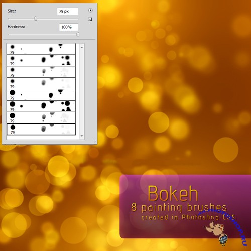 Bokeh Brushes Set