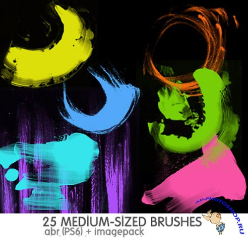 Mixed Brushes Set