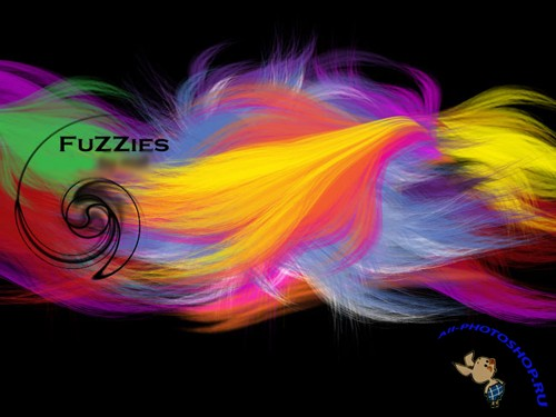Fuzzies Brushes Set