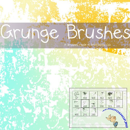 Grunge Brushes Pack 2