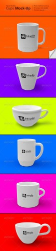 GraphicRiver - Photo-realistic Cups Mock-Up 2734116