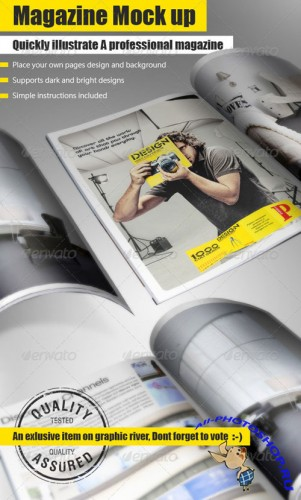GraphicRiver - Magazine Mock Up Tool 276187