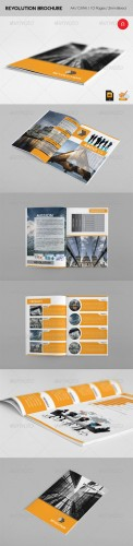 GraphicRiver - Revolution Brochure 2012 - 2744640