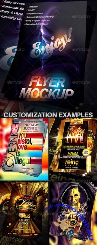 GraphicRiver - Flyer Mock-up Template 403620