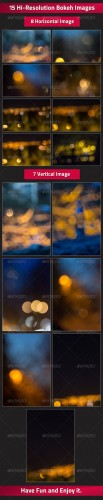 GraphicRiver - Set of 15 Bokeh Images 2738413