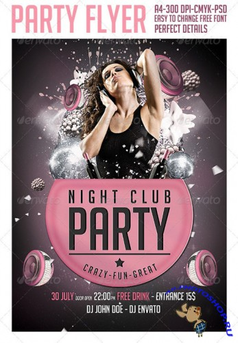 GraphicRiver - Club Party Flyer Template 2717819