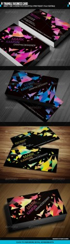 GraphicRiver - Triangle Business Card 2688690