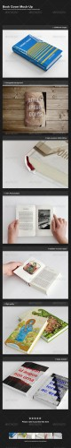 GraphicRiver - Book Cover Mock-Up 1687037
