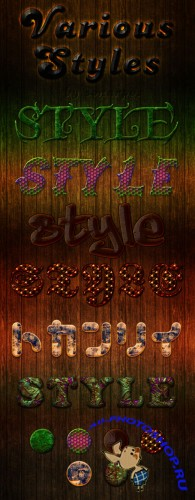 Styles for Photoshop - Various