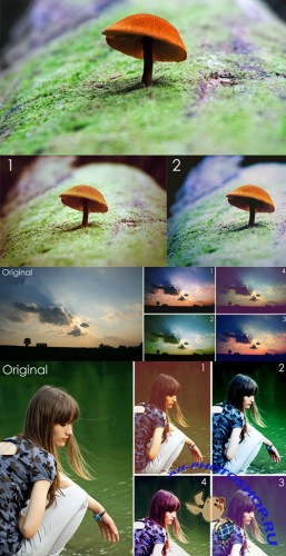 Photoshop Actions 2012 pack 709