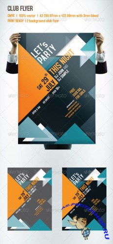 GraphicRiver - CLUB FLYER 2717290