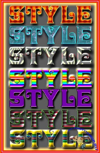 Styles from Gala3D № 11