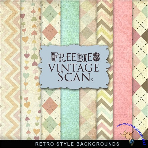 Textures - Retro Style Backgrounds