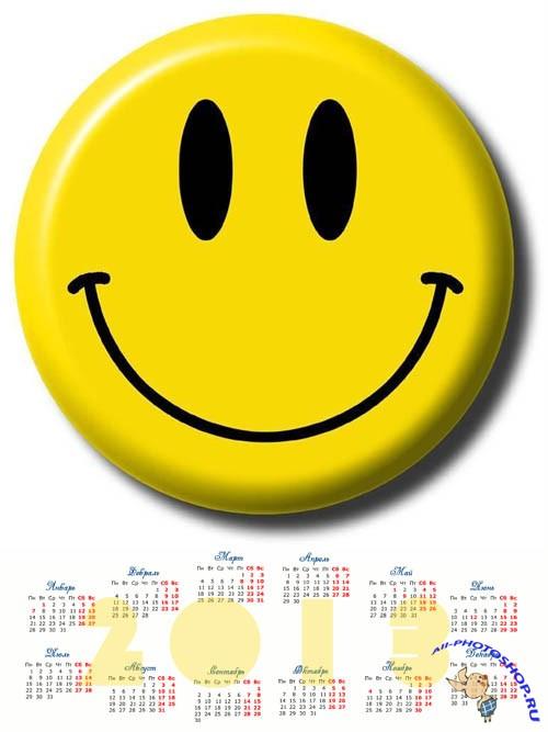 ... Календарь на 2013 год - Веселый смайлик: all-photoshop.ru/tags/%F1%EC%E0%E9%EB