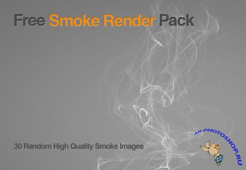 30 High Quality Images Smoke Render Package