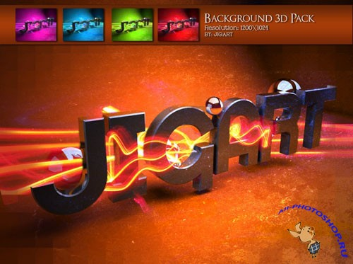 JigArt Background 3D Pack