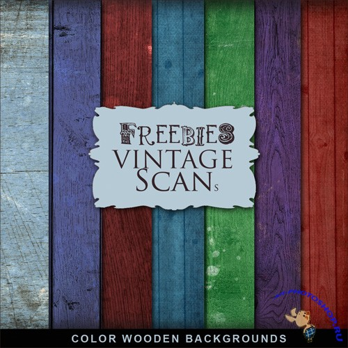 Color Wooden Backgrounds