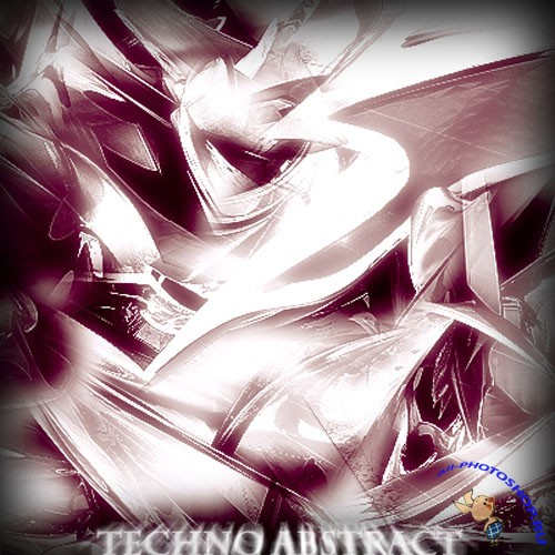 Techno Abstract Photoshop Brushes