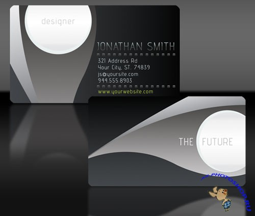 PSD Template - Business Card v3