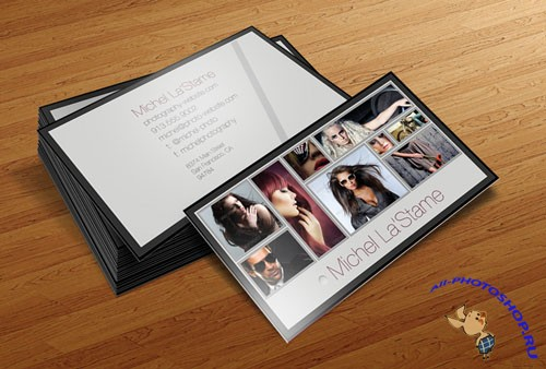 PSD Template - Photographer Business Card V1