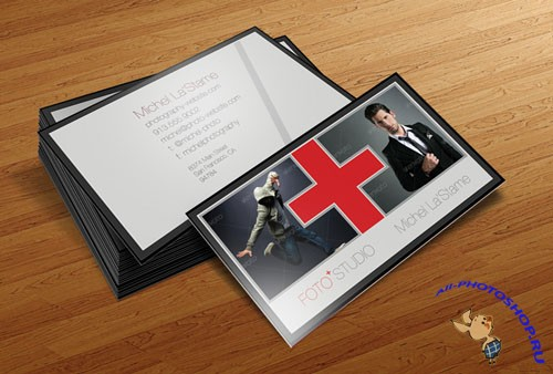 PSD Template - Photographer Business Card V2