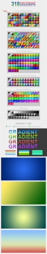 318 Gradients for Photoshop