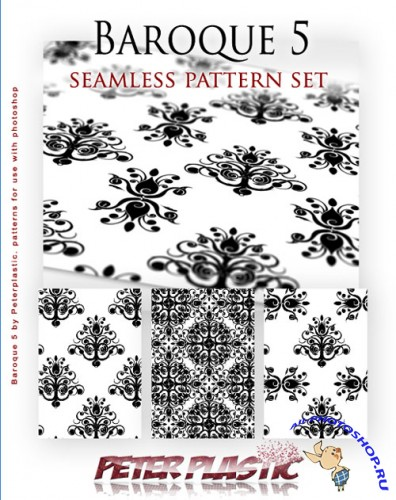 Baroque Seamless Patterns for Photoshop