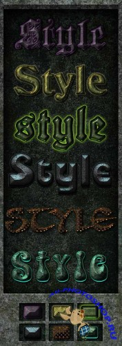 Medieval Magic PS Styles