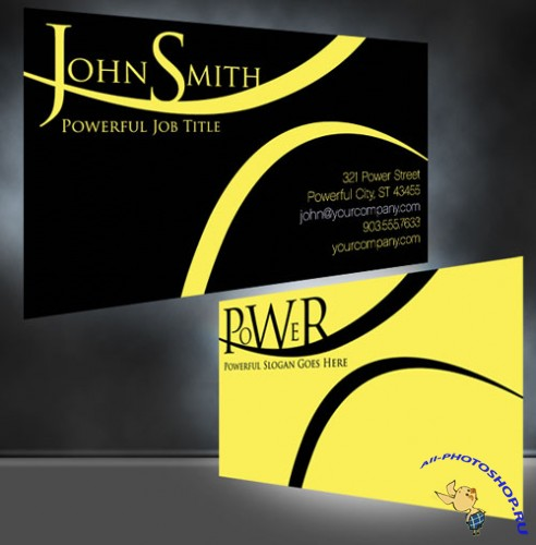 PSD Template - Business Card v2