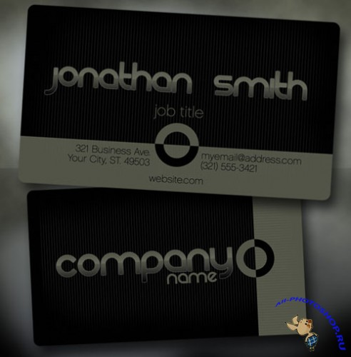PSD Template - Business Card v6