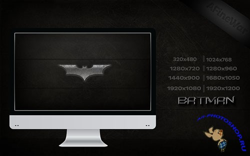 Batman Backgrounds Pack