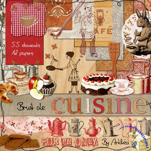 Scrap kit -  Bruit De Cuisine