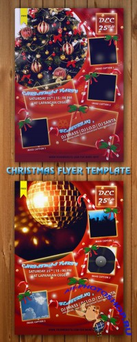 Christmas Flyer/Poster PSD Template V.1