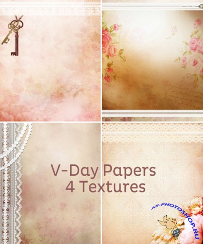 Valentines Day Papers Pack
