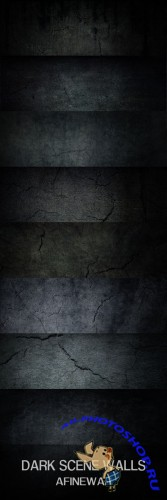 Dark City Walls Textures