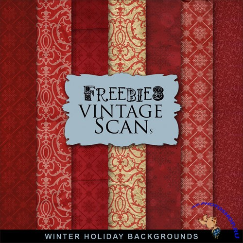 Textures - Winter Holliday Backgrounds