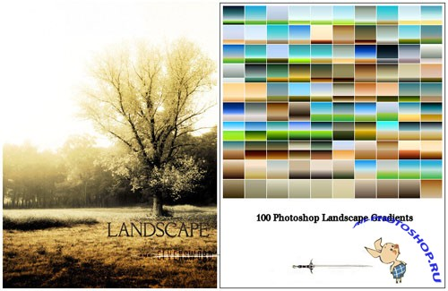 Landscape Photoshop Gradients