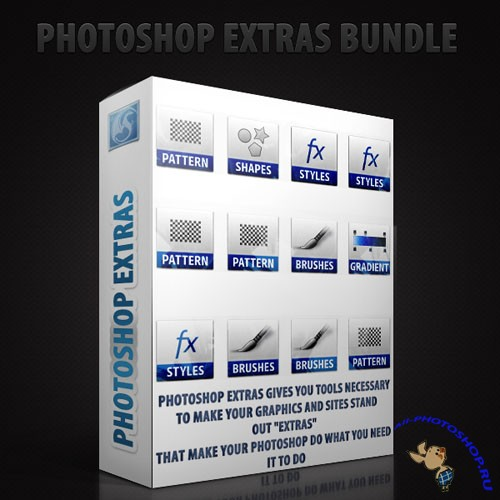 Photoshop Extras Second Edition Bundle #1