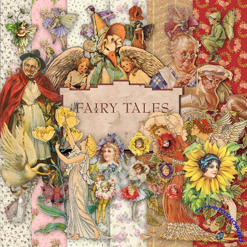 Scrap-set - Fairy Tales