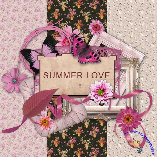 Scrap-set - Summer Love