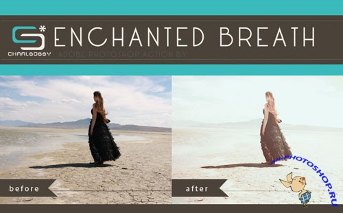 Enchnated Breath Photoshop Actions